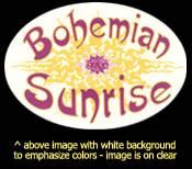 Window Sticker w/Tribal Logo