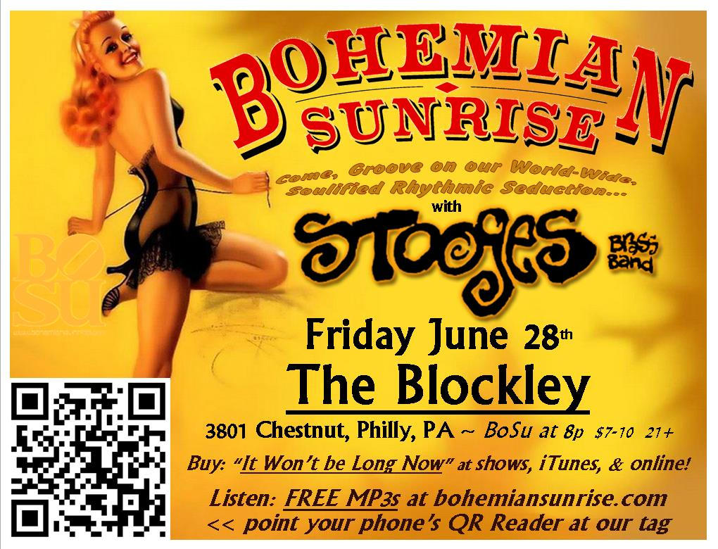 Bohemian Sunrise : Come out and party with us! Right click to Save, Copy, or Print!